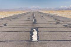 Дорога к нигде в Тибете Стоковая Фотография
