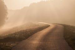 Дорога к нигде стоковые фотографии rf