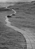 Дорога к нигде Стоковое фото RF