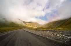Дорога к облакам Стоковые Изображения RF