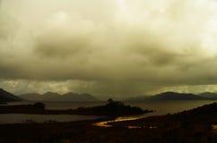 Дорога к озеру Pedder Стоковое Изображение RF