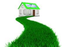 Дорога к дому eco бесплатная иллюстрация