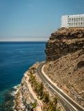 Дорога к пляжу в Peurto Rico стоковые фотографии rf