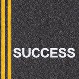 Дорога к принципиальной схеме успеха бесплатная иллюстрация