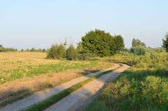 Дорога к природе Стоковые Фотографии RF