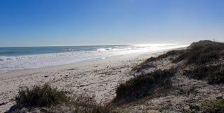 Дорога к пляжу Стоковые Изображения