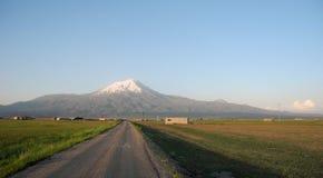 Дорога к саммиту Mount Ararat Стоковые Изображения