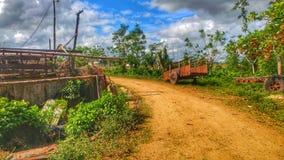 Дорога к стране Стоковая Фотография