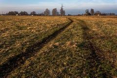 Дорога к усадьбе Стоковое Фото