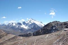 Дорога к лыжному курорту стоковое изображение
