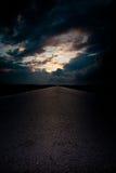 Дорога к Стоковое Изображение RF