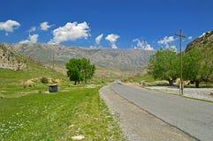 Дорога к Khaidarkan Стоковая Фотография RF