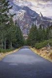 Дорога к Morskie Oko Стоковая Фотография
