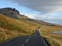 Дорога к Storr Стоковое фото RF