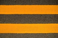дорога маркировок Стоковое фото RF