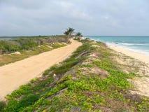 дорога Мексики залива восхождения к Стоковые Фотографии RF