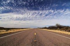Дорога местного значения 118 Техаса Стоковые Изображения RF