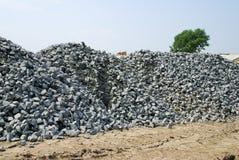 дорога металла гранита Стоковая Фотография RF