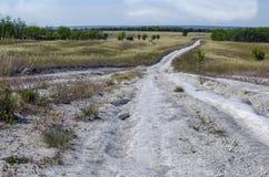 Дорога мела Стоковое фото RF