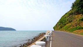 Дорога морем Стоковое Изображение