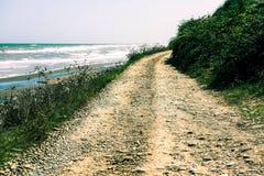 Дорога морем Стоковые Изображения RF