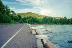 Дорога морем Стоковая Фотография RF