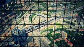 Дорога Москвы стоковые изображения rf