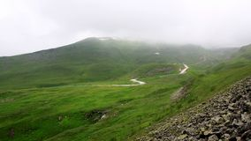Дорога на горе Стоковое Изображение