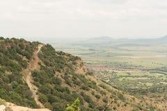 дорога 4x4 на горе Koranna около эксцельсиора Стоковая Фотография