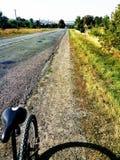 Дорога на 2 колесах стоковые изображения