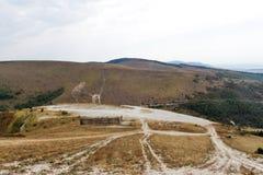 Дорога на морском побережье Стоковая Фотография