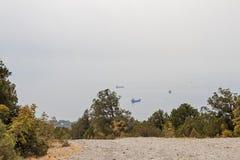 Дорога на морском побережье Стоковое Изображение RF