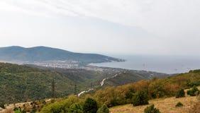 Дорога на морском побережье стоковые изображения rf