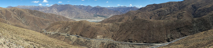 Дорога на наклоне Стоковое Изображение RF