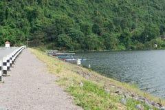 Дорога на печени к горе Стоковое фото RF