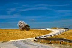 Дорога на сельской местности Стоковая Фотография RF