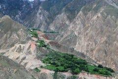 Дорога на Тибете Стоковые Фото