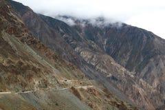 Дорога на Тибете Стоковое Изображение RF