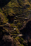 Дорога на Pico de las Nieves Стоковое фото RF