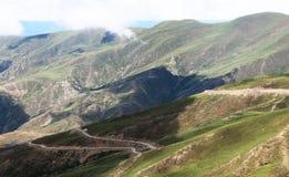 Дорога неба на Тибете Стоковая Фотография
