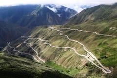 Дорога неба на Тибете Стоковые Изображения RF