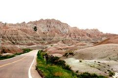 дорога неплодородных почв Стоковое Изображение RF