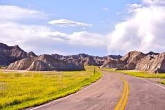 Дорога неплодородных почв стоковая фотография rf