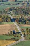 Дорога ниже стоковые изображения rf