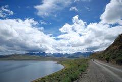 Дорога озера Стоковые Фотографии RF
