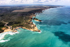 дорога океана Австралии 12 апостолов большая Стоковые Изображения RF