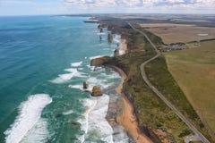 дорога океана Австралии 12 апостолов большая Стоковое фото RF
