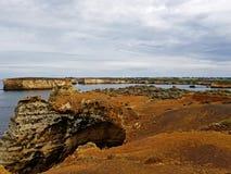 дорога океана Австралии большая стоковое фото rf