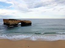 дорога океана Австралии большая стоковые изображения rf