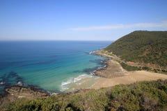 дорога океана Австралии большая melbourne Стоковая Фотография RF